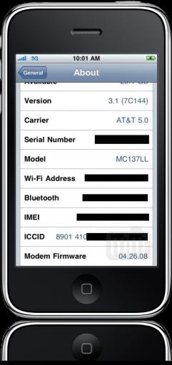 iPhone 3GS jailbroken