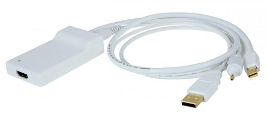 Kanex Mini DisplayPort Adapter To HDMI 1080p Video w/ Digital Audio