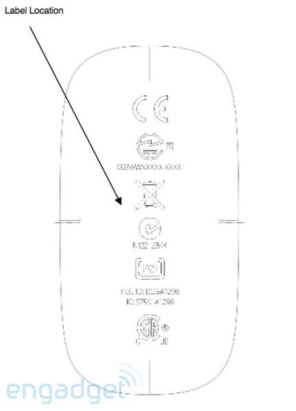 Mouse da Apple na FCC
