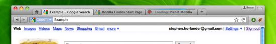 Firefox 4.0, com ícones pequenos