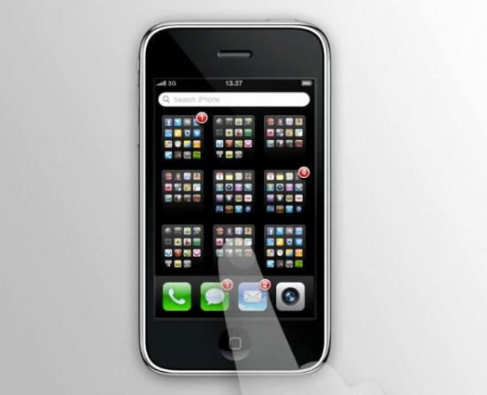 Exposé no iPhone