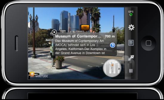 Wikitude no iPhone