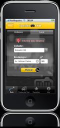Apontador Táxi no iPhone