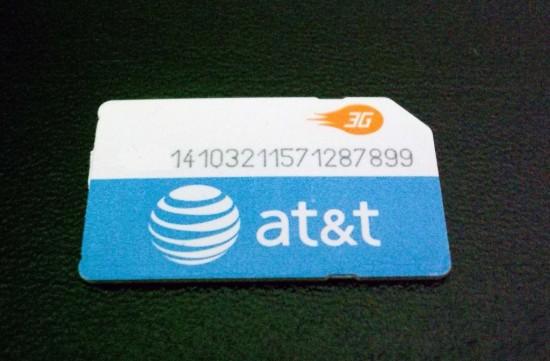 Chip 3G da AT&T