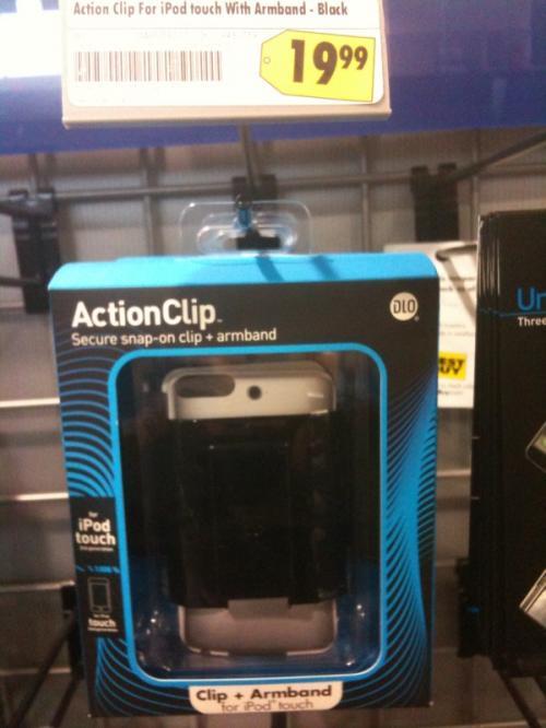 Case de iPod touch com buraco pra câmera