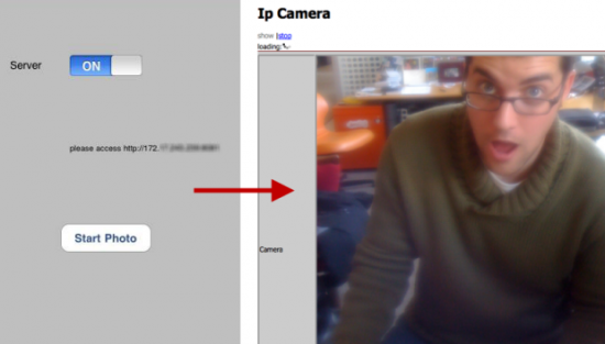 IP Camera para iPhone