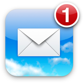Ícone do Mail do iPhone OS