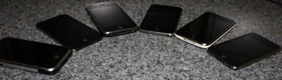 Família de iPhones/iPods touch