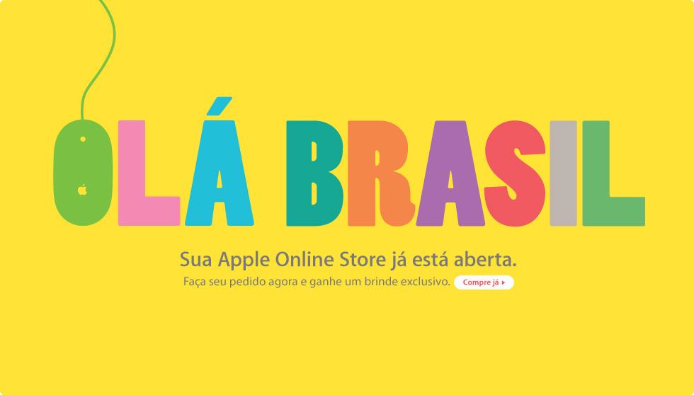Olá Brasil - Apple Online Store