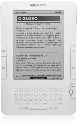 Kindle com O Globo