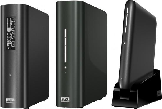 Novos HDs externos da WD