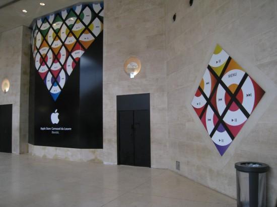 Apple Retail Store do Louvre em Paris