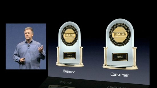 Phil Schiller falando sobre sucesso do iPhone