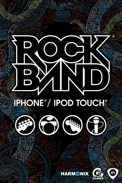 Rock Band para iPhones/iPods touch