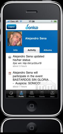 Sonico para iPhone