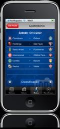 Brasileirão 09 no iPhone
