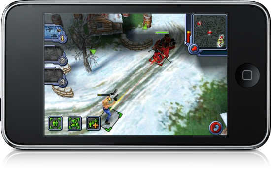 """""""Command & Conquer Red Alert"""" para iPhone OS"""