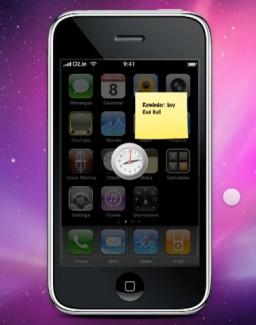Dashboard para o iPhone