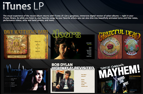 iTunes LPs