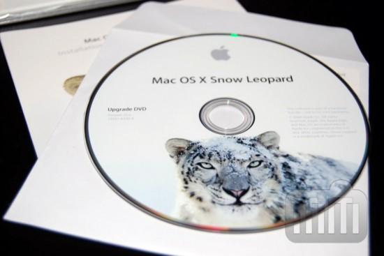 Mac OS X 10.6 Snow Leopard Upgrade DVD