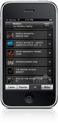 Live Metallica no iPhone