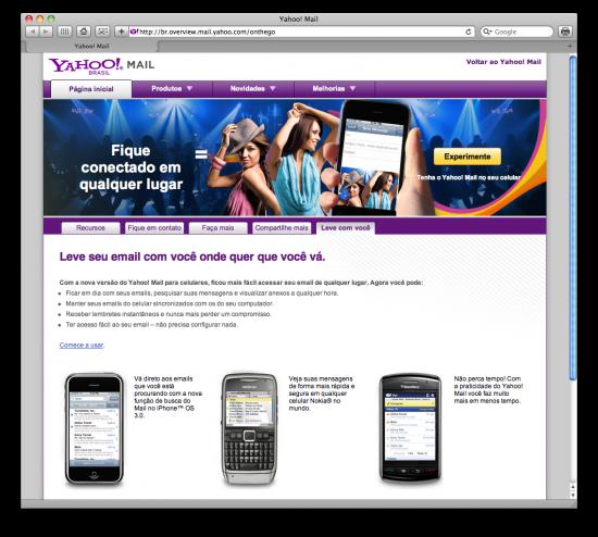 iPhone Yahoo! Mail