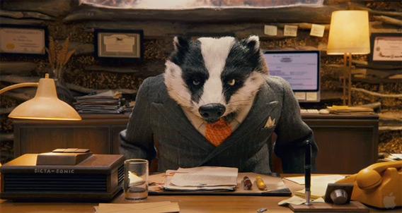 Mac é Pop Fantastic Mr. Fox