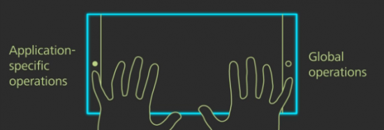 10GUI - trackpad