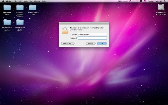 Mac FAIL login Desktop