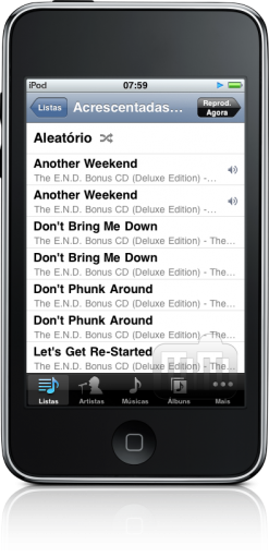 iPod touch FAIL music duplicated
