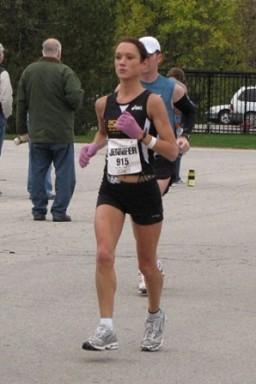 Jennifer Goebel, maratonista
