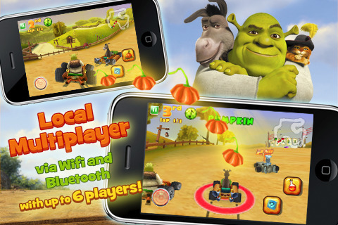 Shrek Kart, da Gameloft