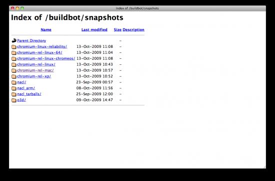 Chrome OS nos repositórios do Google?