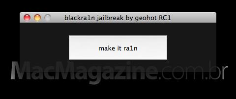 blackra1n para Mac OS X
