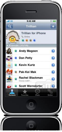 Trillian para iPhone