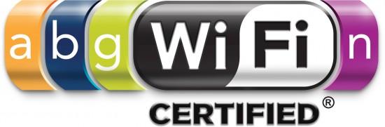 Logo Wi-Fi Certified 802.11a/b/g/n
