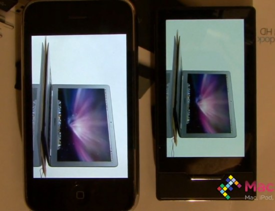 Zune HD vs. iPhone 3GS