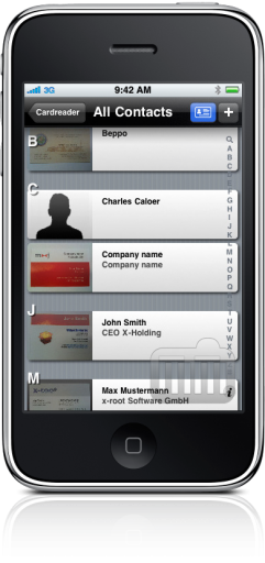 Cardreader no iPhone