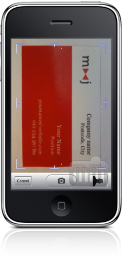 Cardreader no iPhone