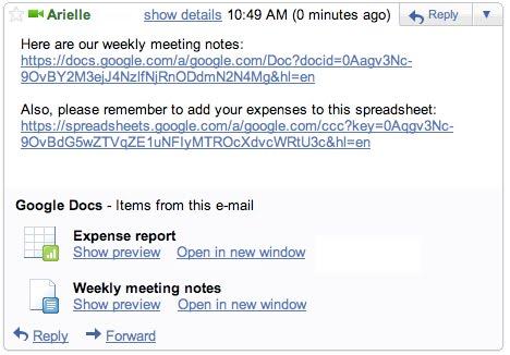 Google Docs Preview