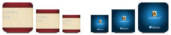 Redimensionando os ícones