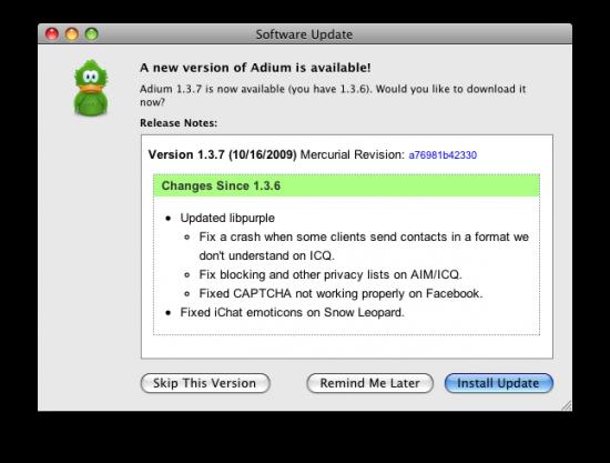 Adium 1.3.7
