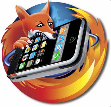 Firefox abocanhando iPhone