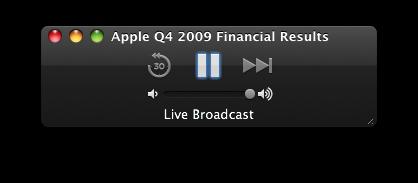 Resultados Financeiros do quarto trimestre fiscal de 2009