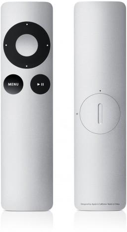 Apple Remote de alumínio