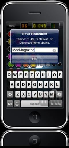 Senha no iPhone