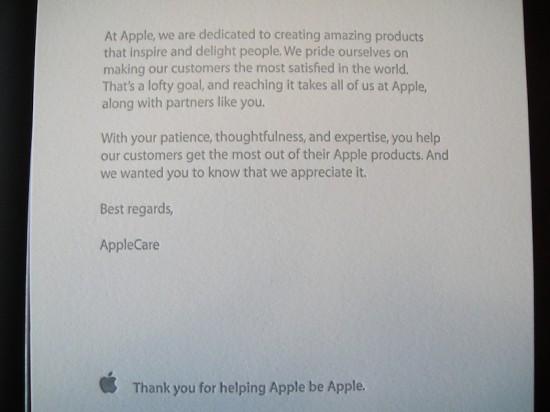 Camiseta de emprego da Apple