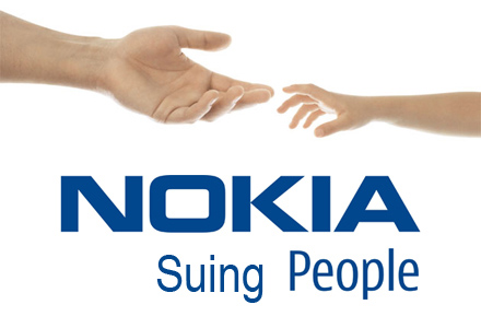 Nokia - Suing People