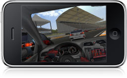 Real Racing GTI no iPhone