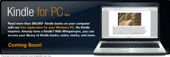 Kindle for PC (Windows)
